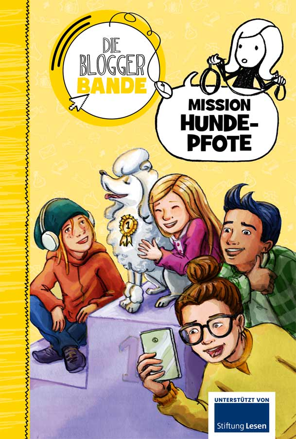 "Die Bloggerbande, Band 20 ""Mission Hundepfote"""